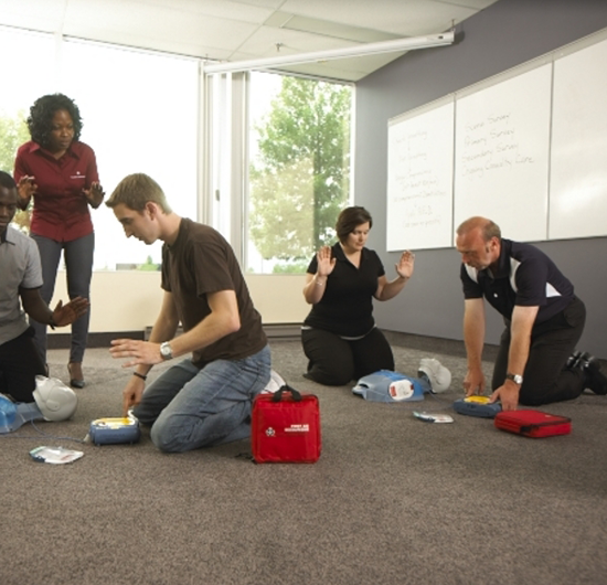 First Aid at Work Training